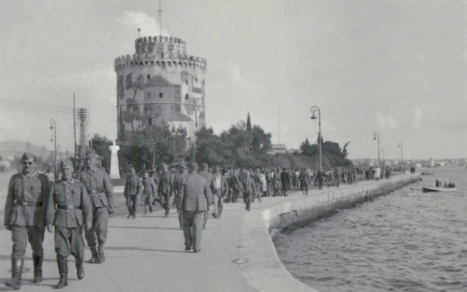 The German occupation of Thessaloniki