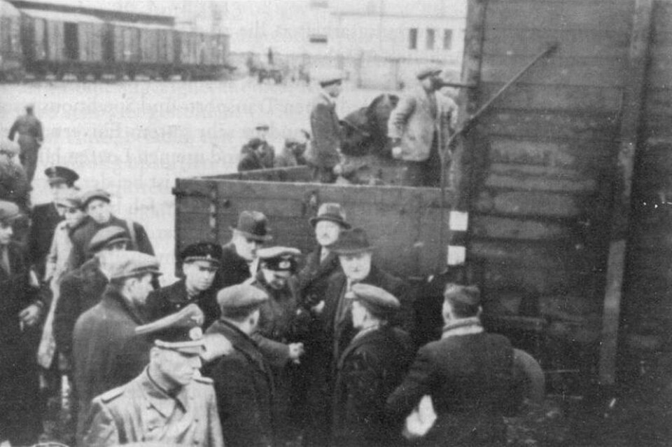 The deportation from Warsaw during the Holocaust