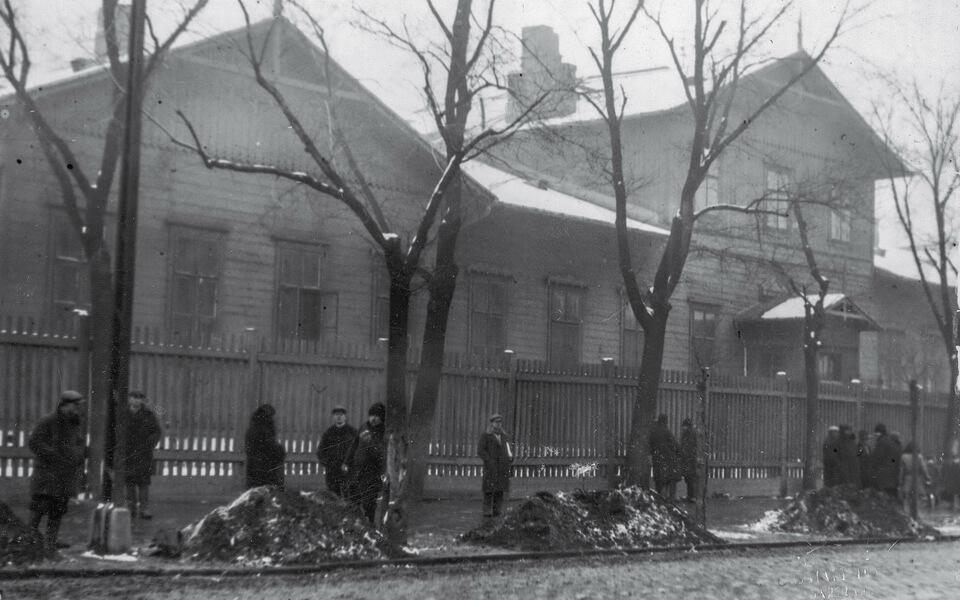 DZIKA 4 / STAWKI 12 in Warsaw before the War