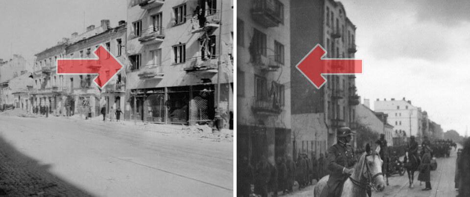 Puławska 83 in Warsaw, historical photos