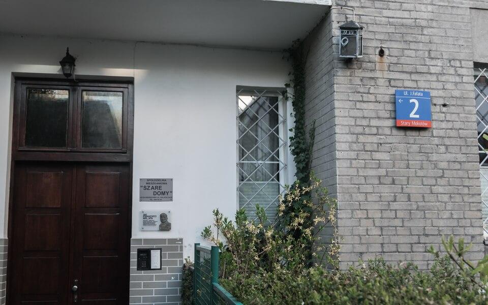 Wladyslaw Szpilman hiding places in Warsaw, Falata 2