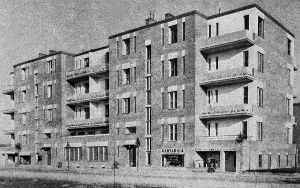 Falata 2, grey houses Warsaw