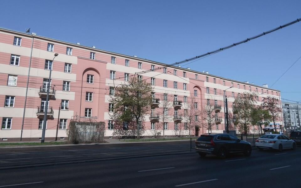 Aleja Niepodległości 227/233 in Warsaw