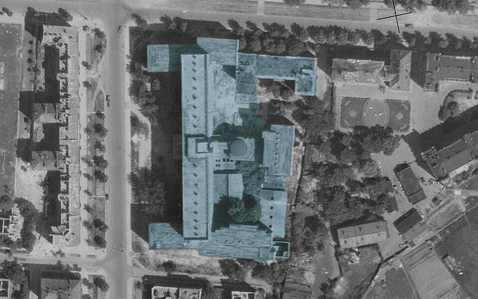 HIDING THE HOSPITAL (al.Niepodległości 218) Wladyslaw Szpilman