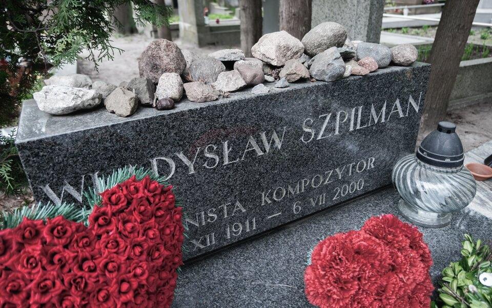 GRAVE OF WLADYSLAW SZPILMAN Warsaw