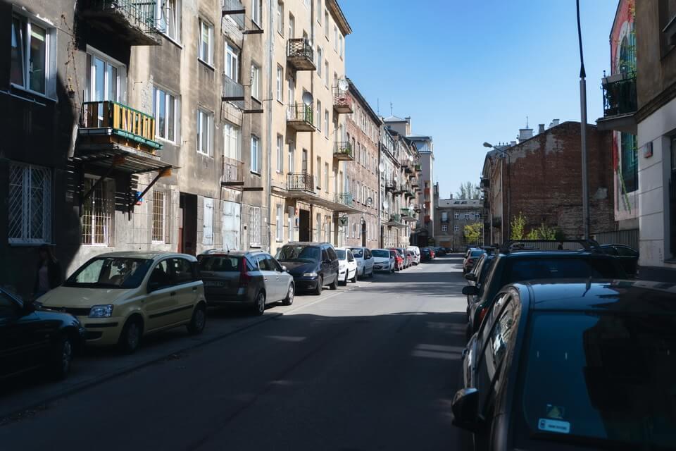 Mala street in Praga Polnoc