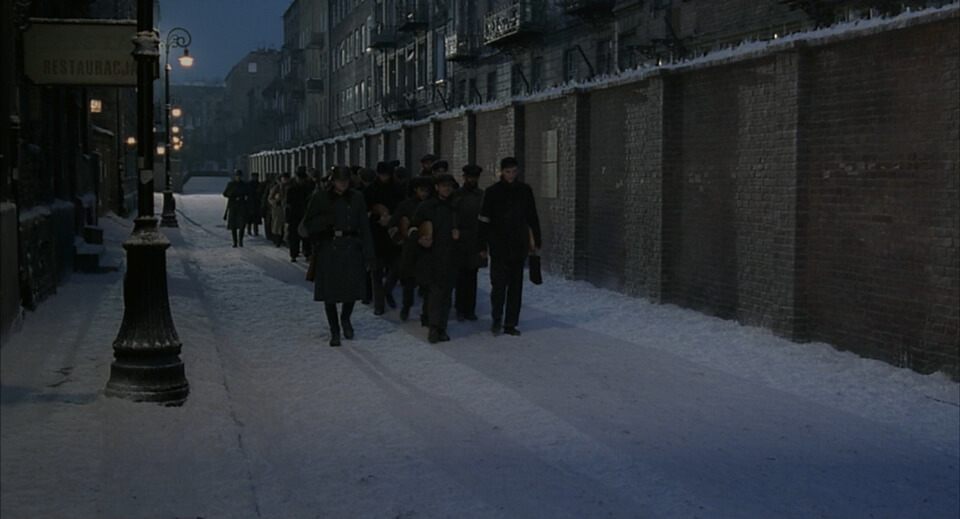 The Warsaw ghetto in The Pianist movie