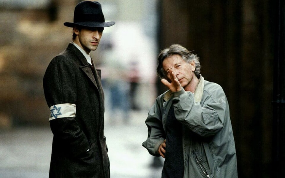 Roman Polanski and Adrian Browdey