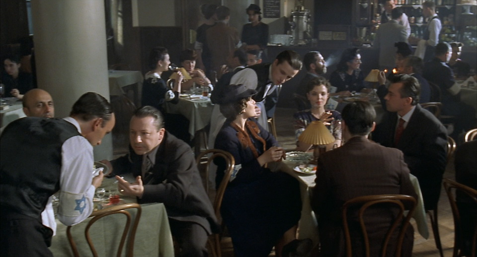 'The Pianist' movie scene. CAPRI cafe