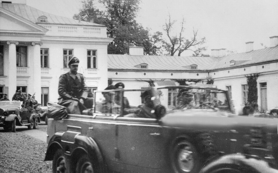 Adolf Hitler visited BELVEDERE PALACE  in Warsaw