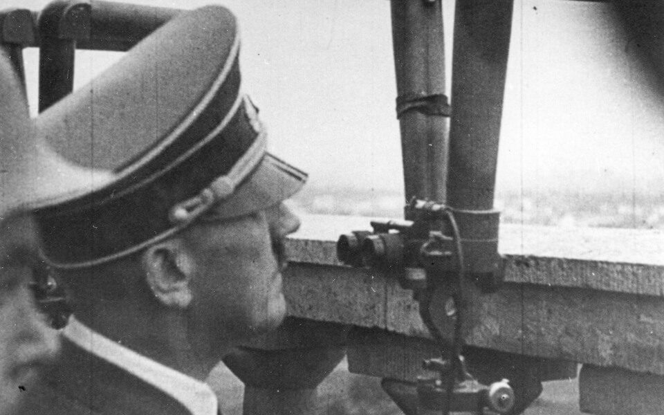 ADolf Hitler near Warsaw