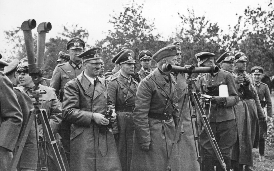Hitler near Warsaw September 22 1939