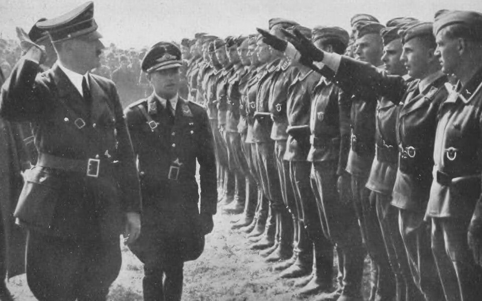 Adolf Hitler in Poland 1939