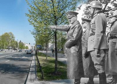 Hitler's visit to Warsaw 1939