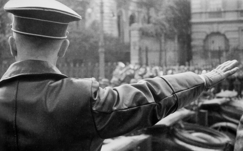 Hitler in Warsaw October 5 1939