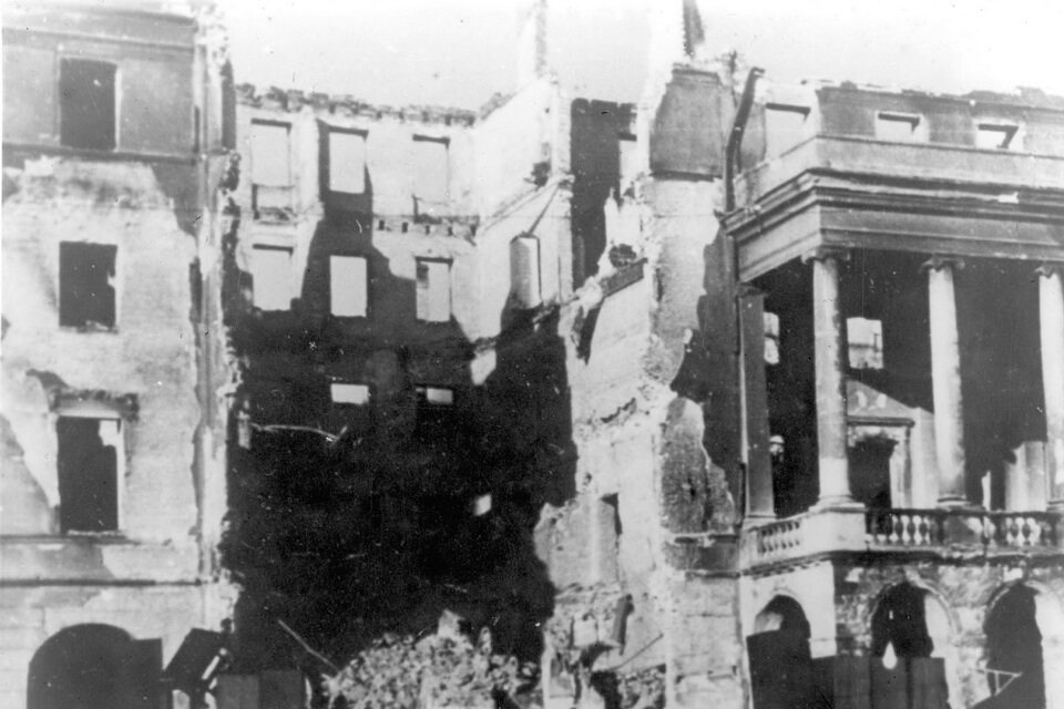 The Warsaw 1944 Uprising: pictures