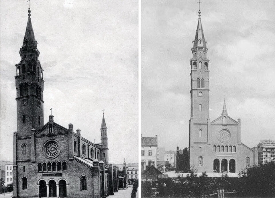 THE PRESERVED BUILDINGS OF THE FORMER WARSAW GHETTO AUGUSTINE'S CHURCH
