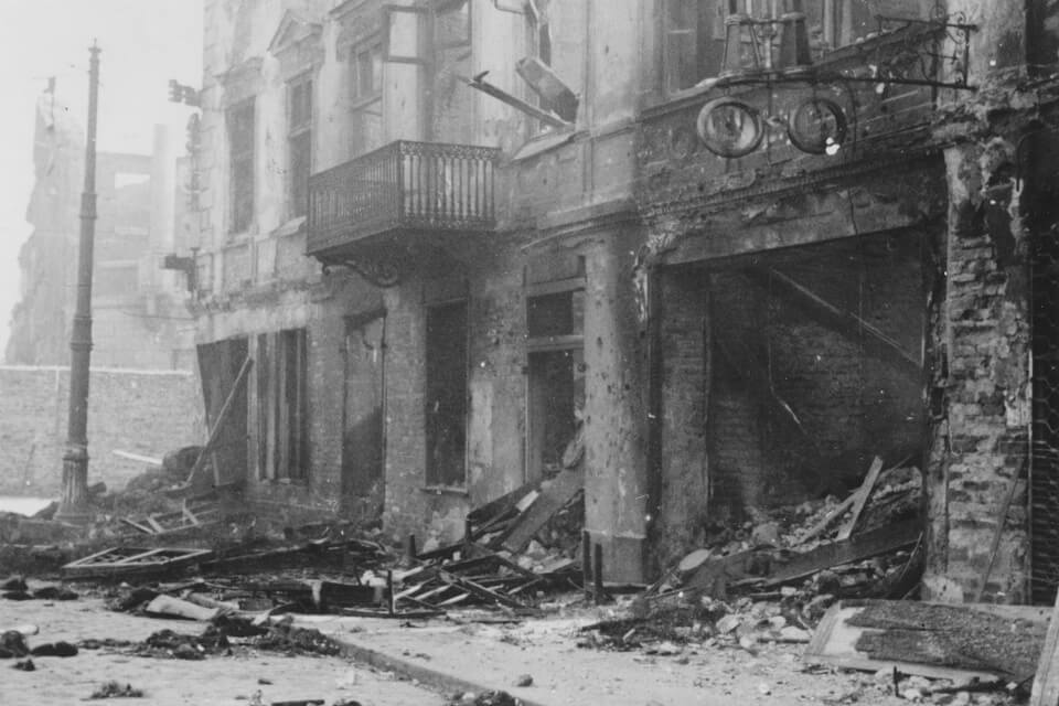 april 1943 warsaw ghetto uprising: Warsaw ghetto today