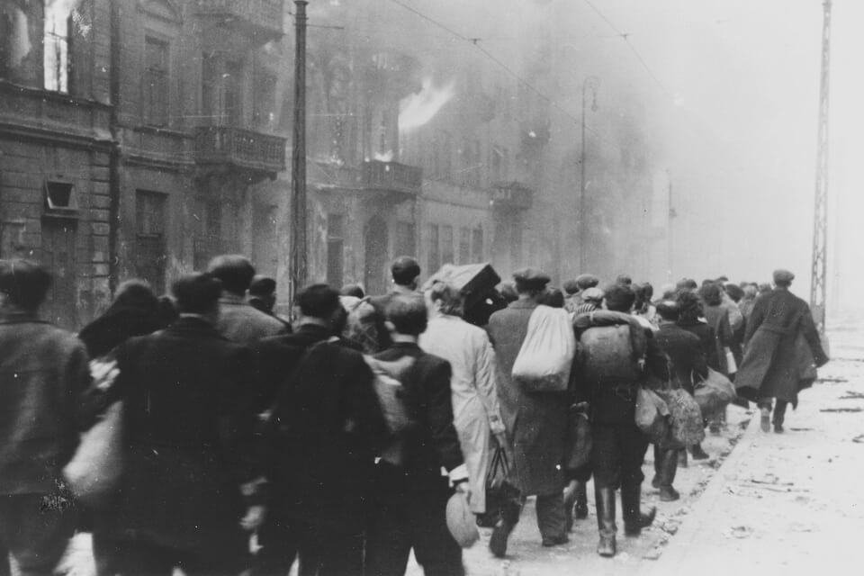 what was the warsaw ghetto uprising