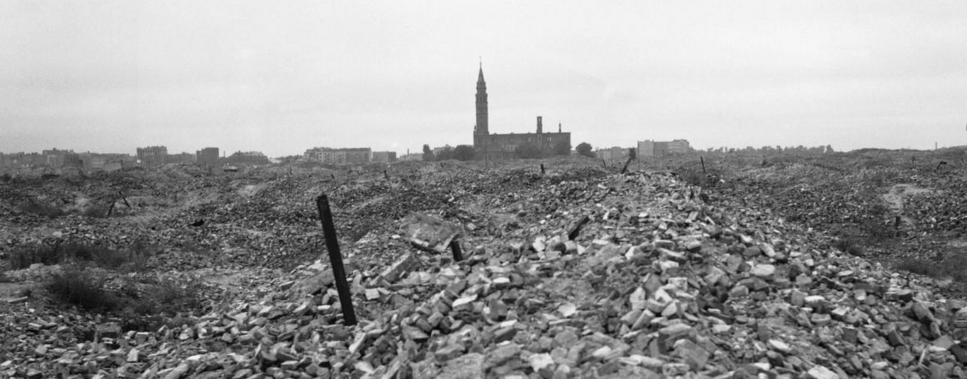 THE REMNANTS OF THE WARSAW GHETTO