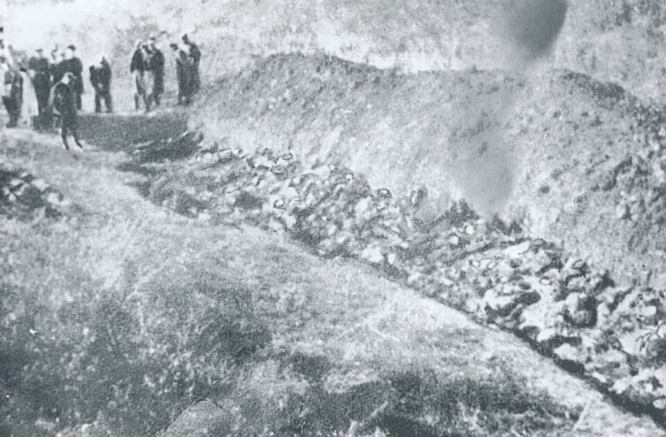 Mass graves in Babi yar