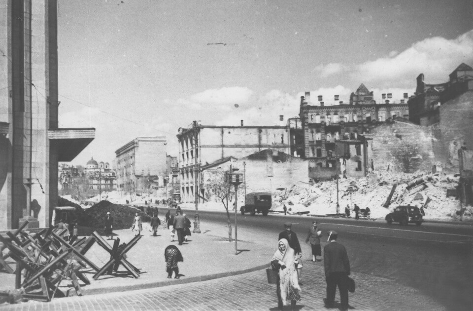 The German occupation of Kyiv September 1941
