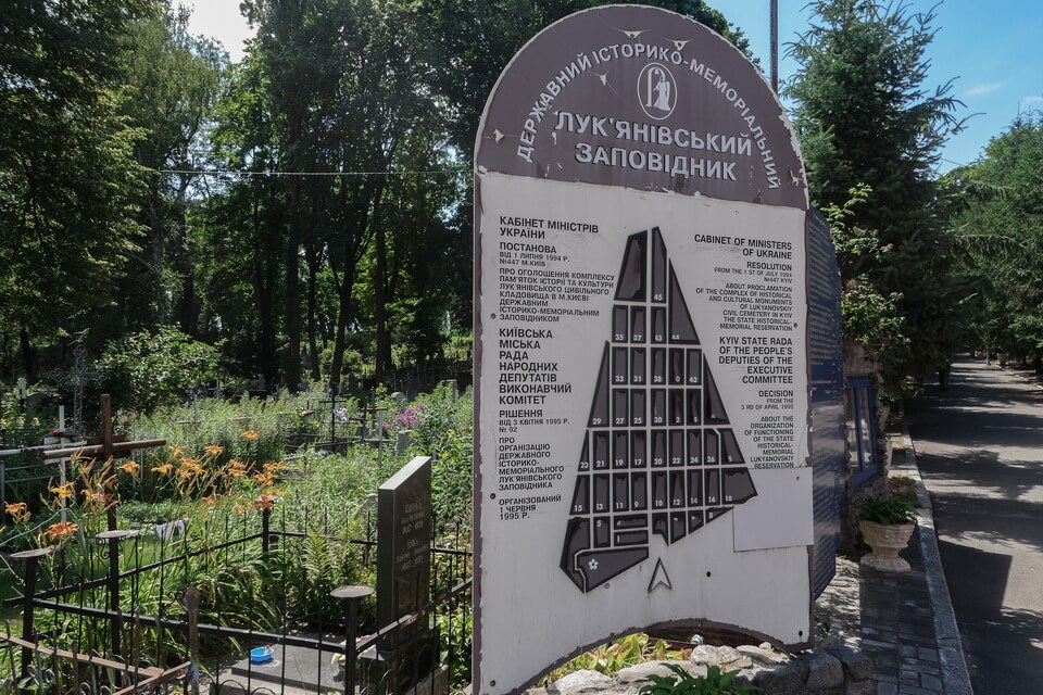 THE LUKYANIVKA STATE HISTORICAL AND MEMORIAL RESERVE