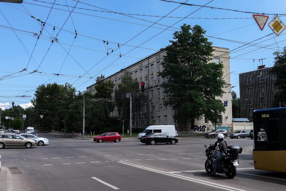 Melnikova street, Kyiv, Ukraine