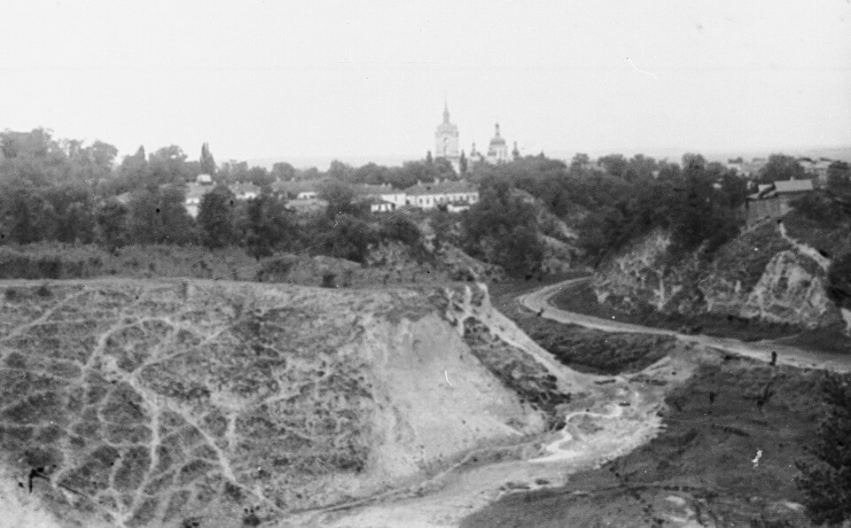 Pavlov Mental Clinic, Cyril's church from the perspective of the Repyhov ravine