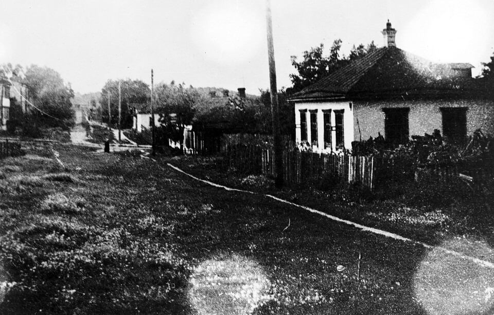 Kurenivka neighborhood in Kyiv in the 1910-s