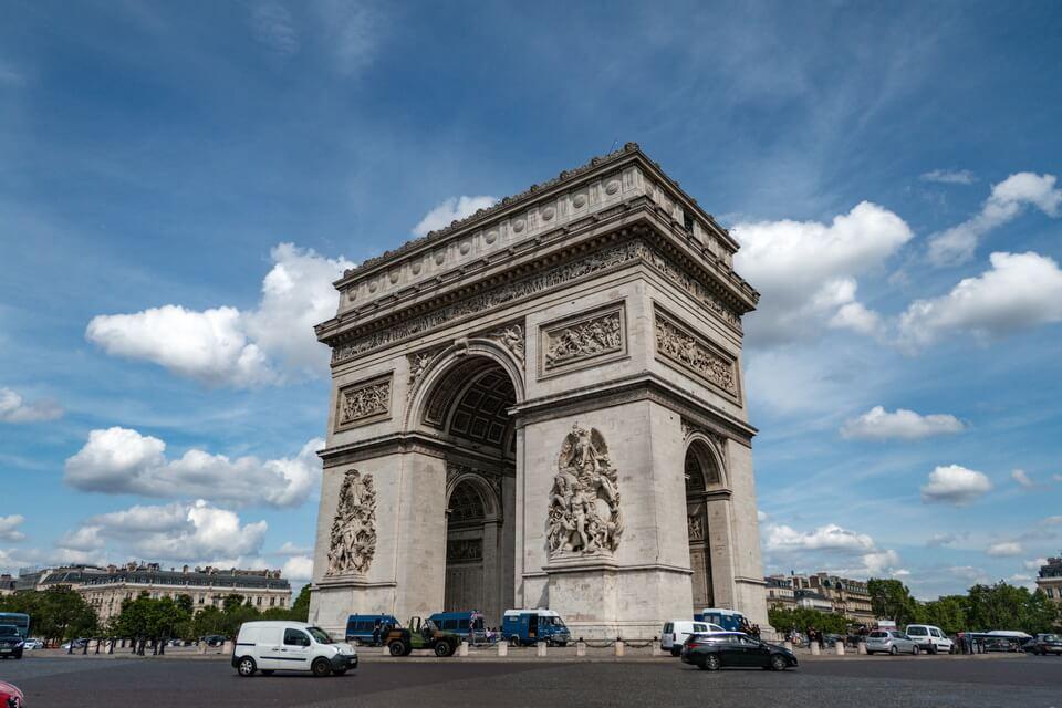 The Arc of Triumph, Paris