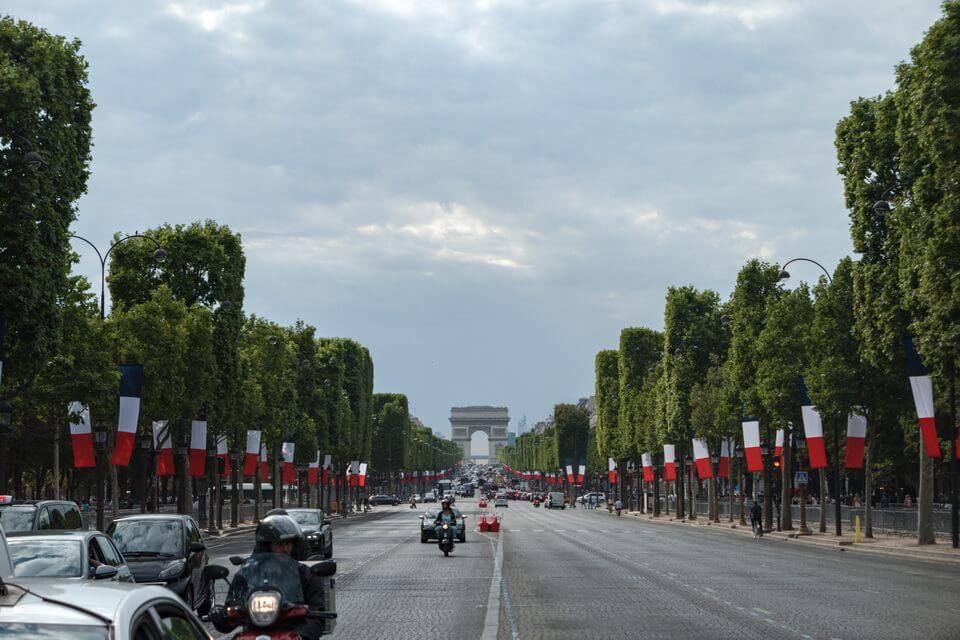 Avenue Champ de Elysee, Paris