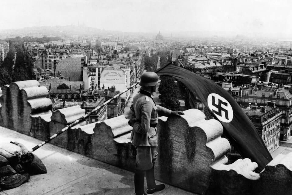 The fall of Paris, June 14 1940