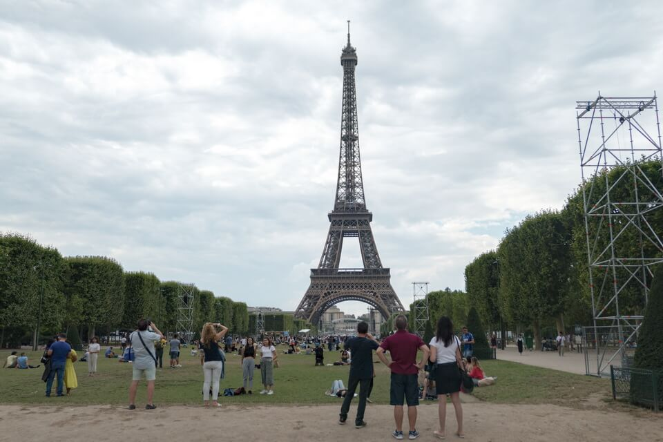 CHAMP DE MARS and Eiffel Tower
