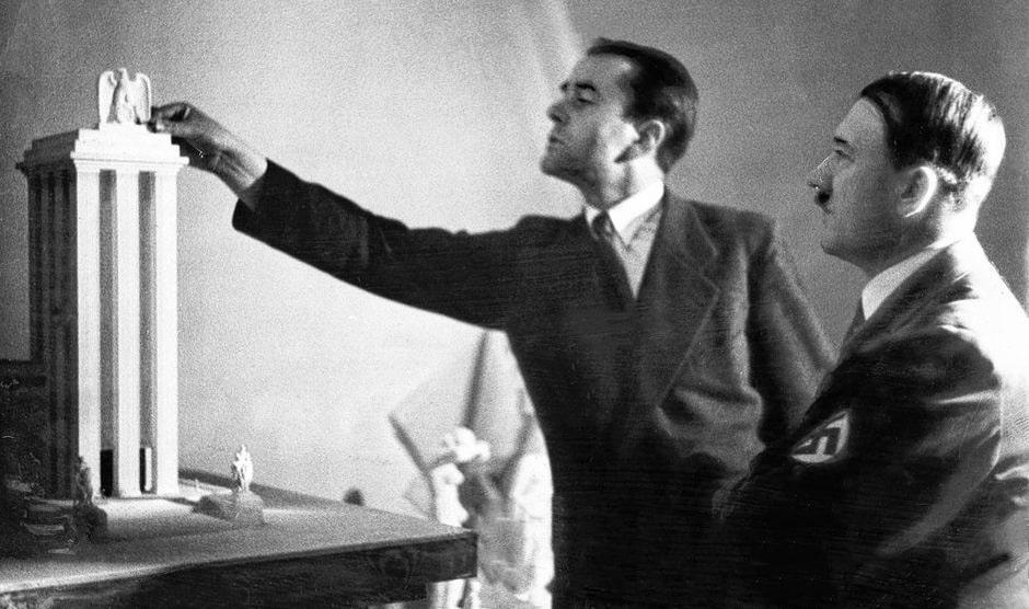 Adolf Hitler and Albert Speer