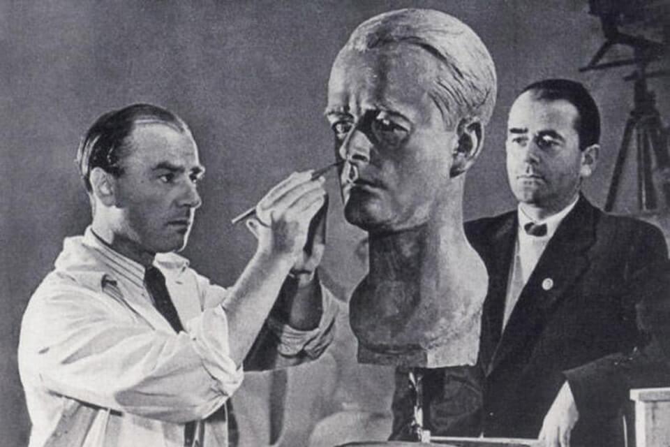 Arno Breker and Albert Speer