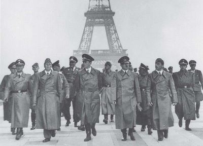 Hitler's visit to Paris