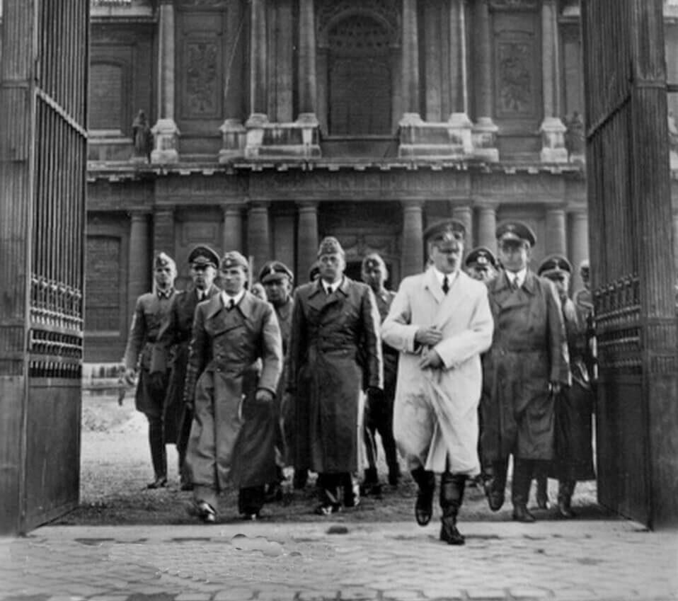 HOTEL DES INVALIDES and Adolf Hitler, June 23 1940