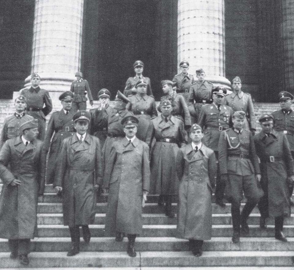Hitler at ÉGLISE DE LA MADELEINE Paris