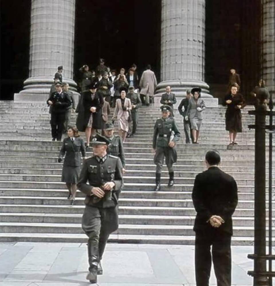 ÉGLISE DE LA MADELEINE during the German occupation 1940-1944