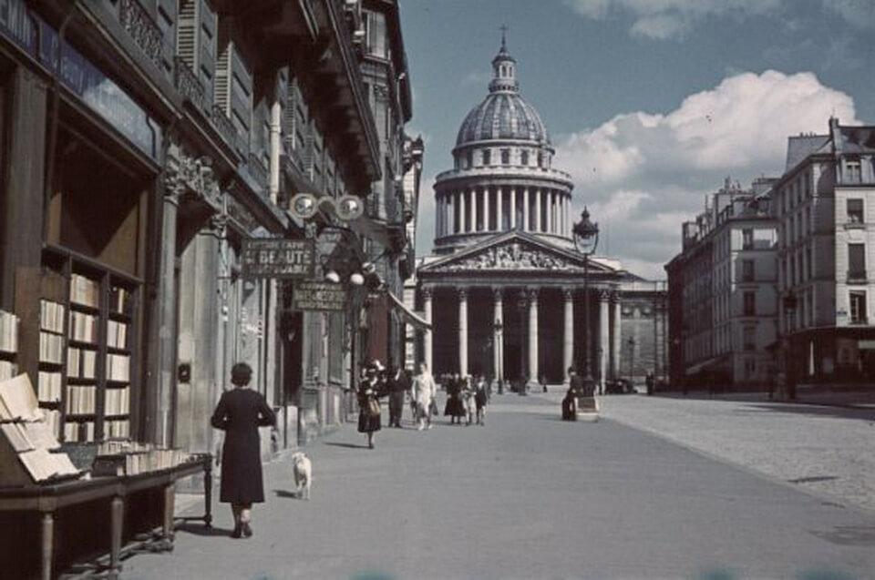 Pantheon in Paris 1940-1944