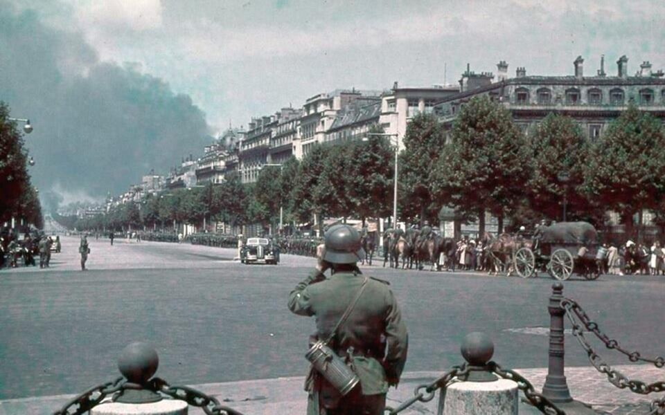 The so-callded parade of Victory, The fall of Paris, June 14 1940