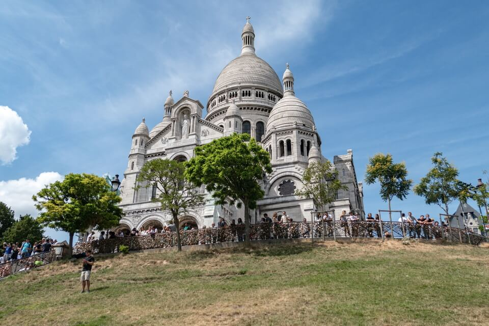 'Basilique du Sacré-Cœur' Paris
