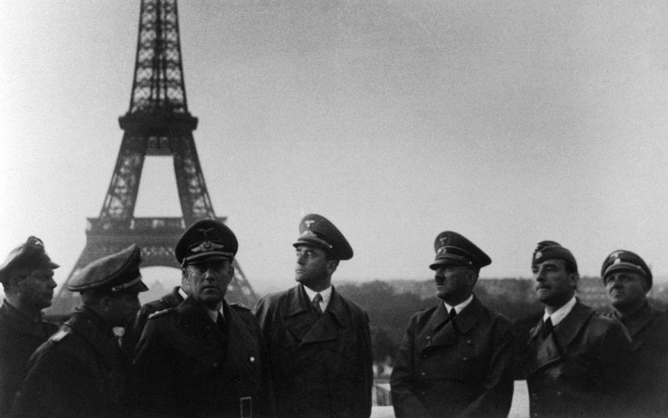 Hitler's at TROCADERO