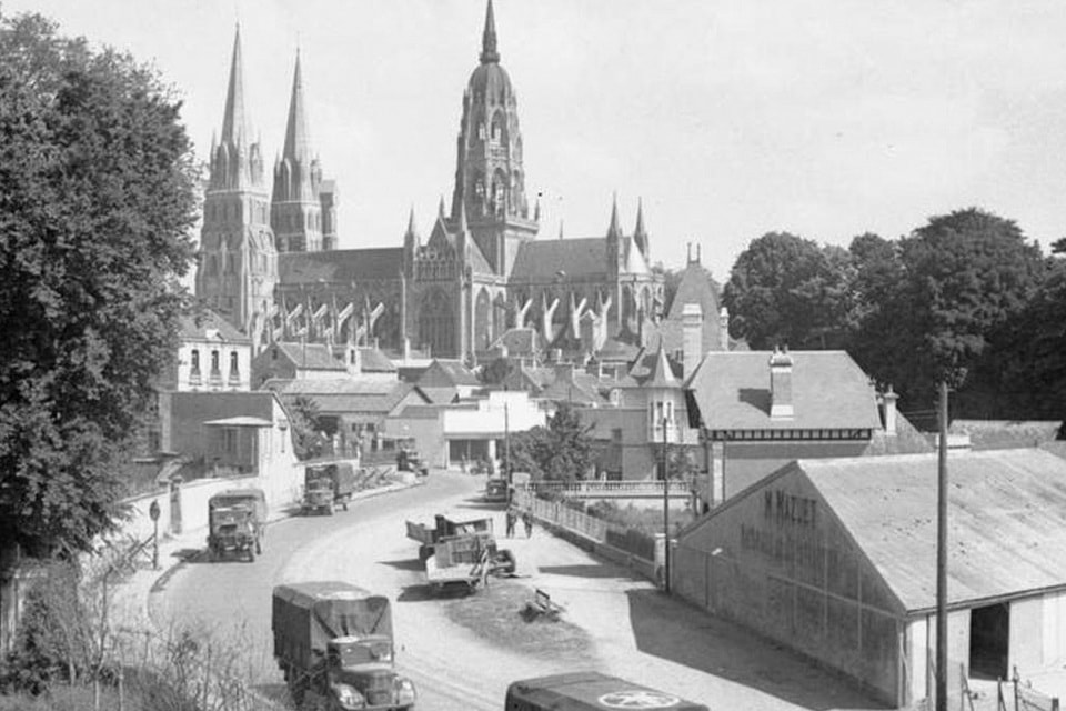 Bayeux, the capital of France in 1944