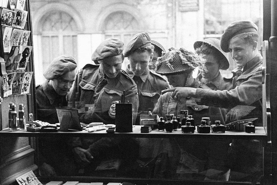 Bayeux after liberation, June 1944