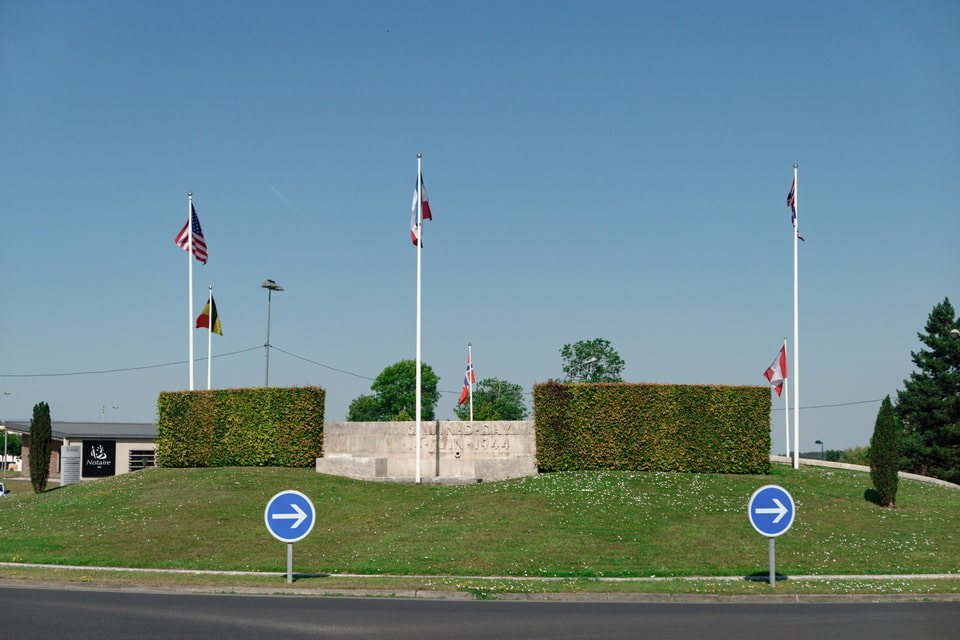 The monument of liberation of Bayeux