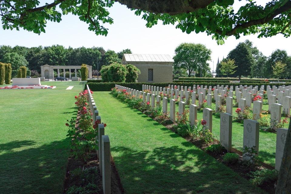 BRITISH MILITARY CEMETERY, Normandy