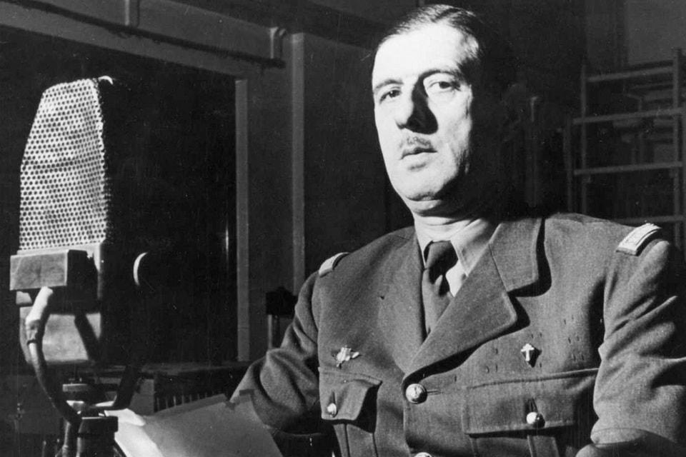 Charles André Joseph Marie de Gaulle at BBC
