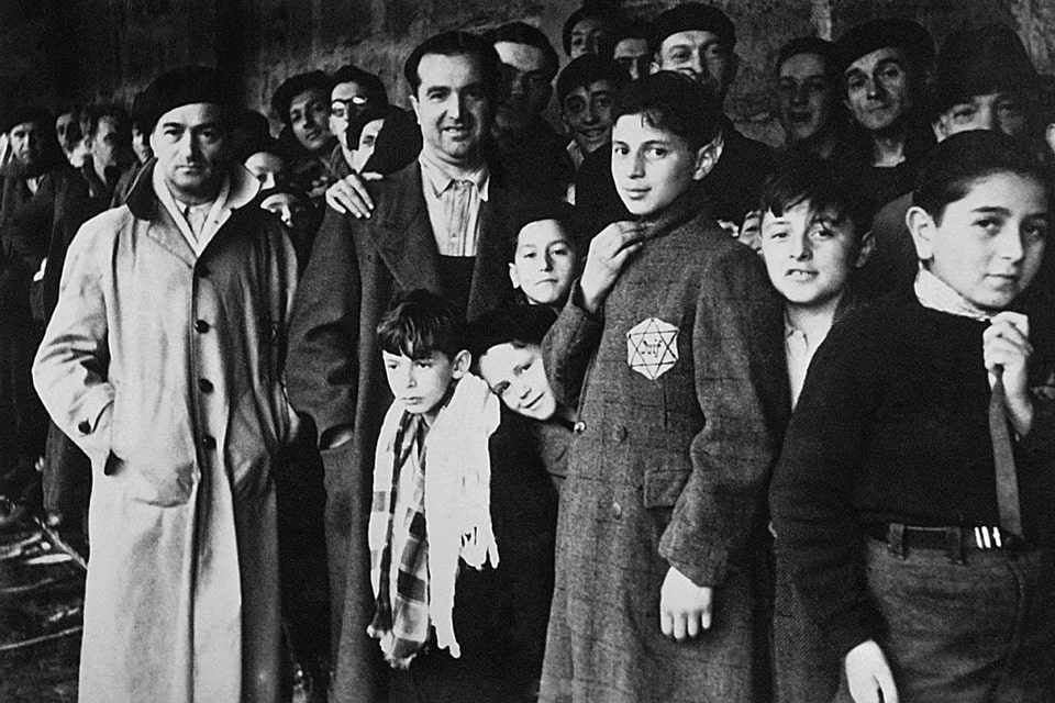 The French Jews at the Drancy transit camp, 1942